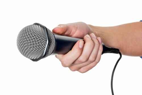 Das wandernde Mikrofon